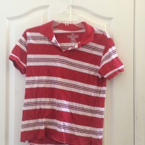 Boys faded glory polo shirt large 10/12